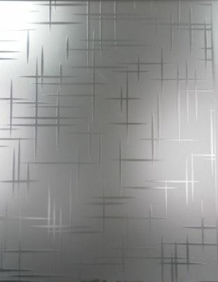 Стекло матированное узорчатое Лабиринт